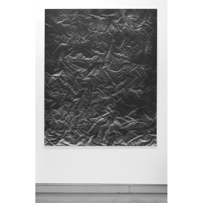 Black Topographical Painting #1