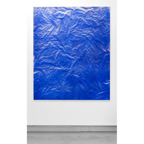 Blue Topographical Painting #1 [NOT FOR SALE]