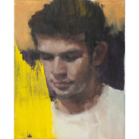 Boring Portrait with Very Cool Yellow Smear [Not For Sale]