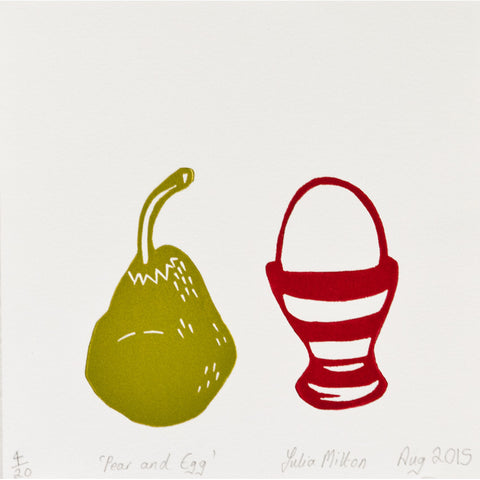 Pear and Egg