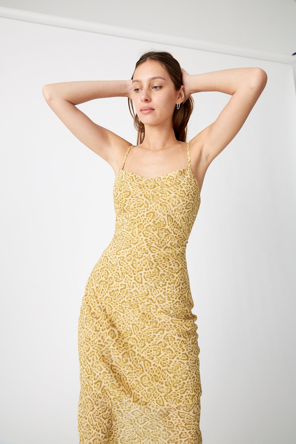RUMBA SLIP DRESS | SAFARI