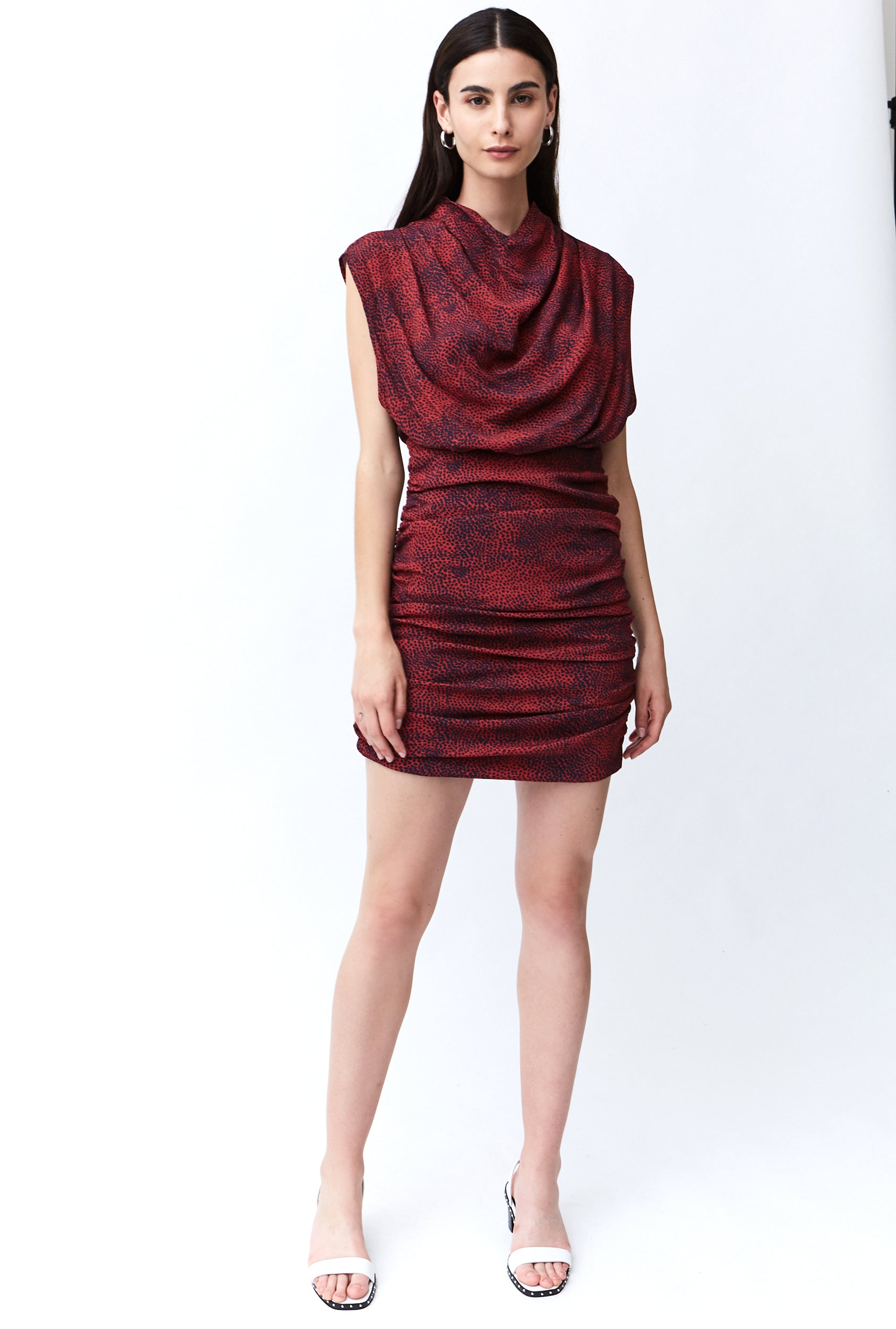 THE HUNTED HIGH NECK DRESS | CHERRY ANIMAL