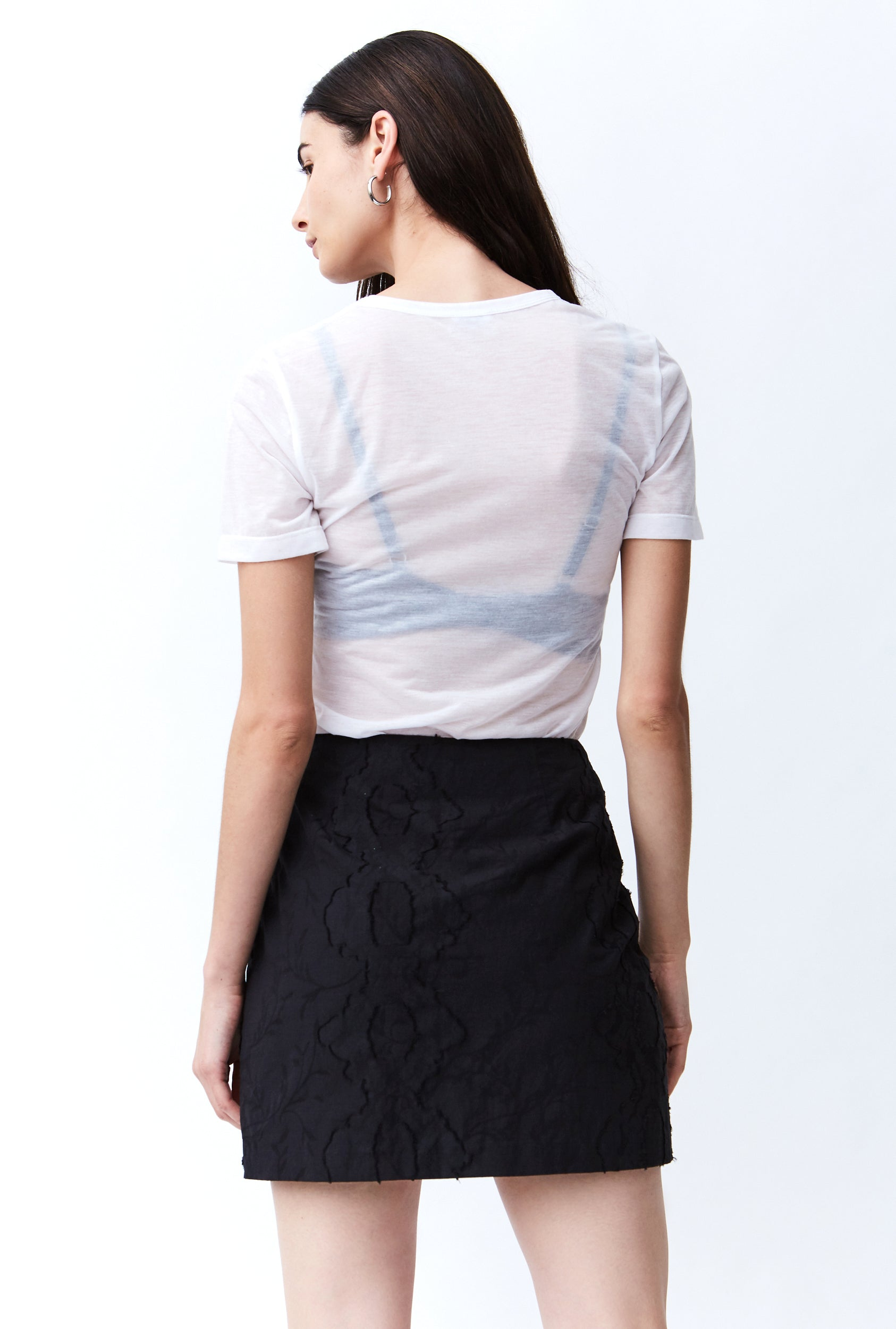 FIELDS MINI SKIRT | BLACK