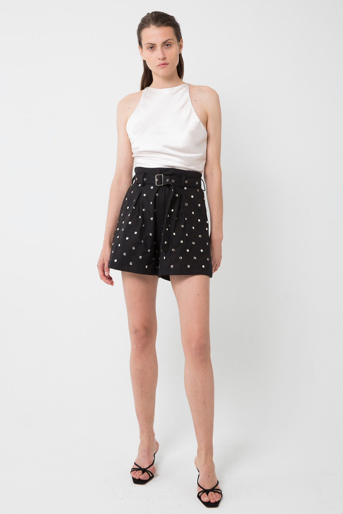 HEY STUD SHORT | BLACK