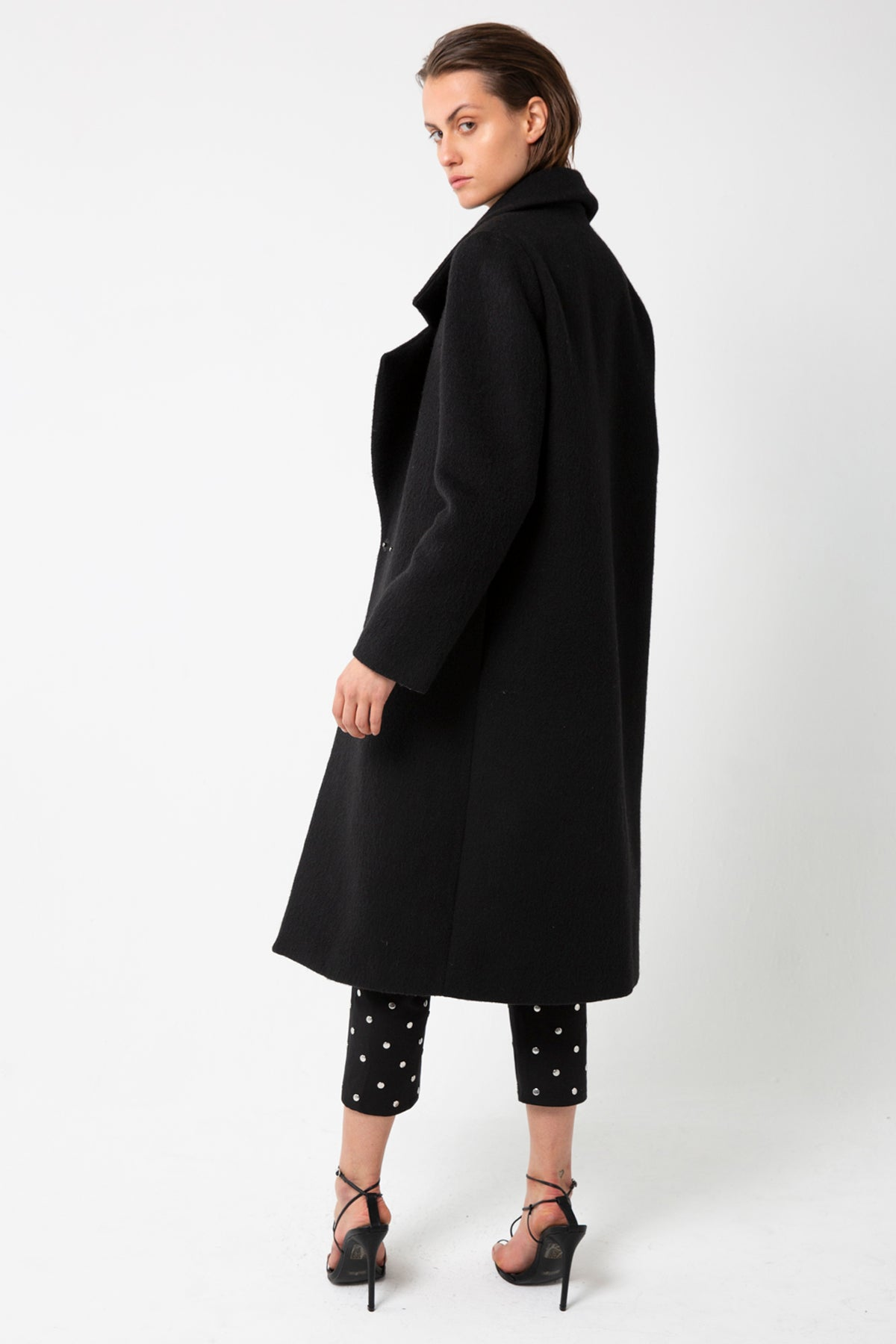 UNDER COVER COAT | BLACK