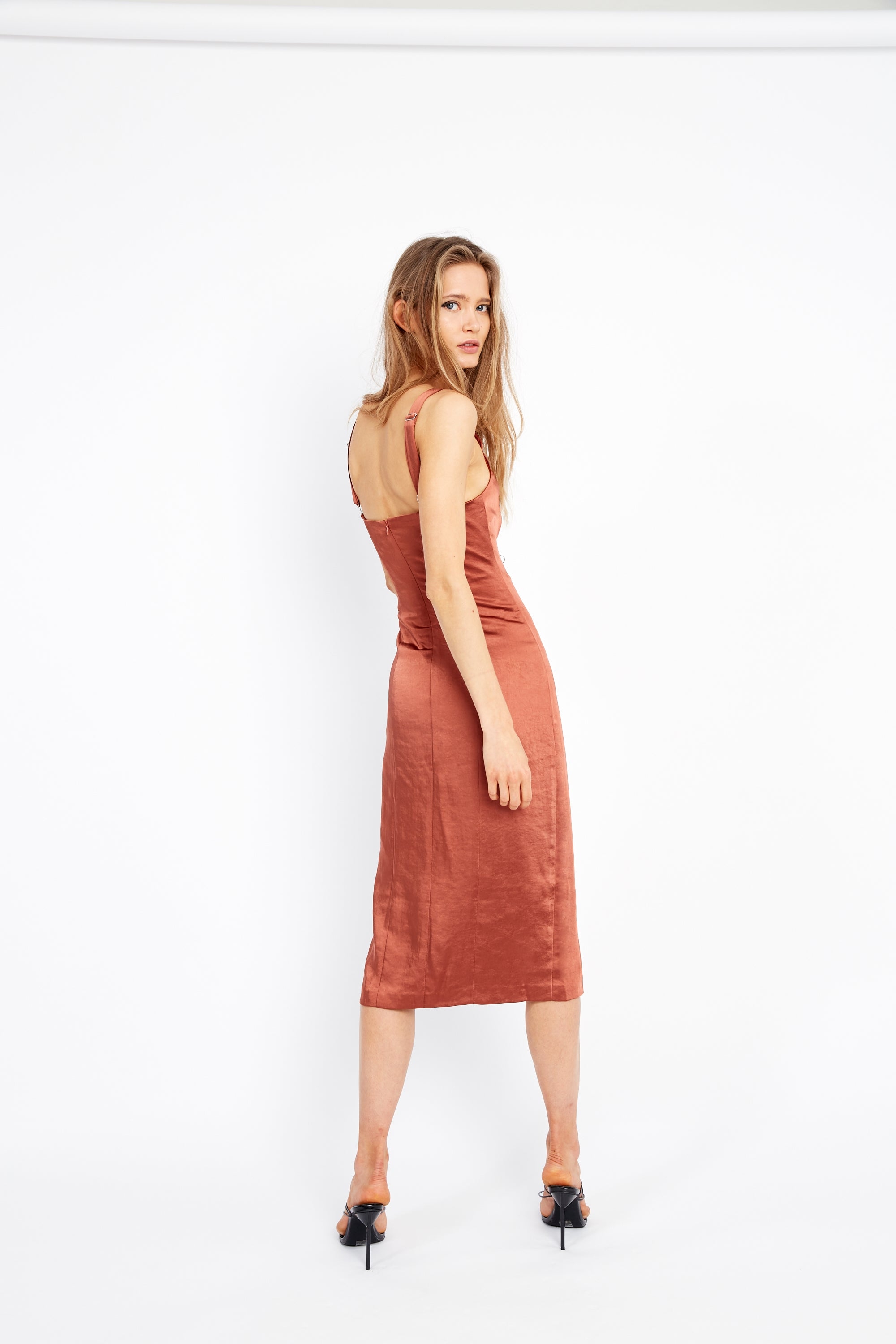ESCAPE SPLIT DRESS | SIENNA