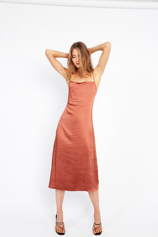 ESCAPE BIAS SLIP DRESS | SIENNA