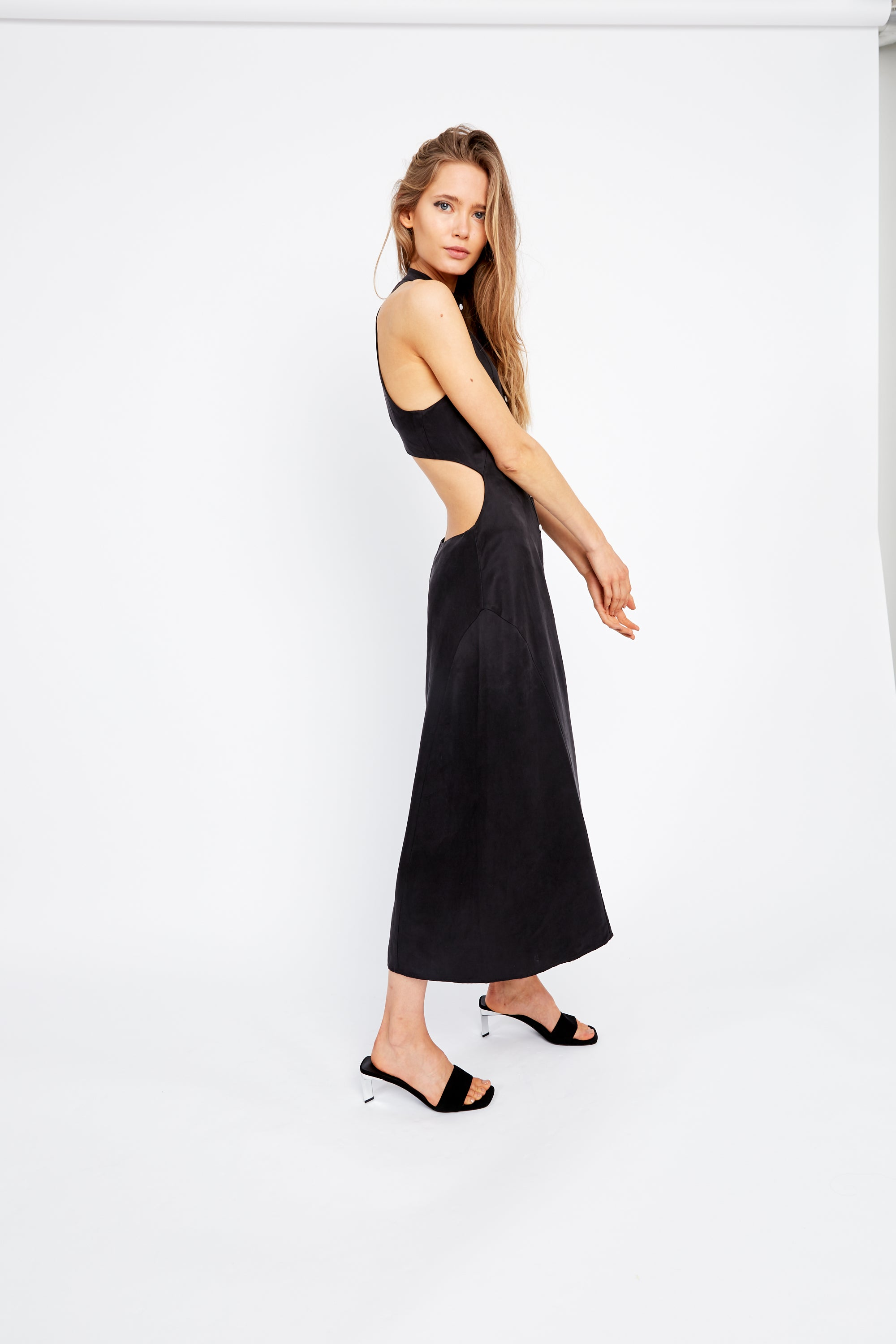 VICE VERSA MAXI DRESS | BLACK
