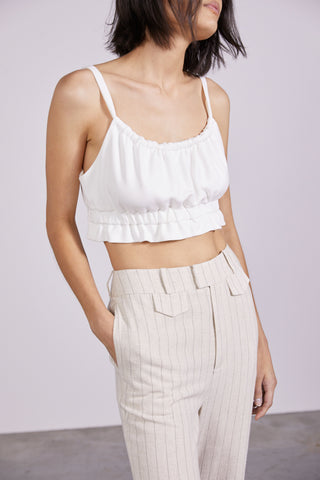 PULL IN CAMI - OFF WHITE