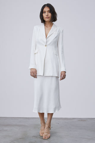 TULIP SOFT BLAZER | OFF WHITE