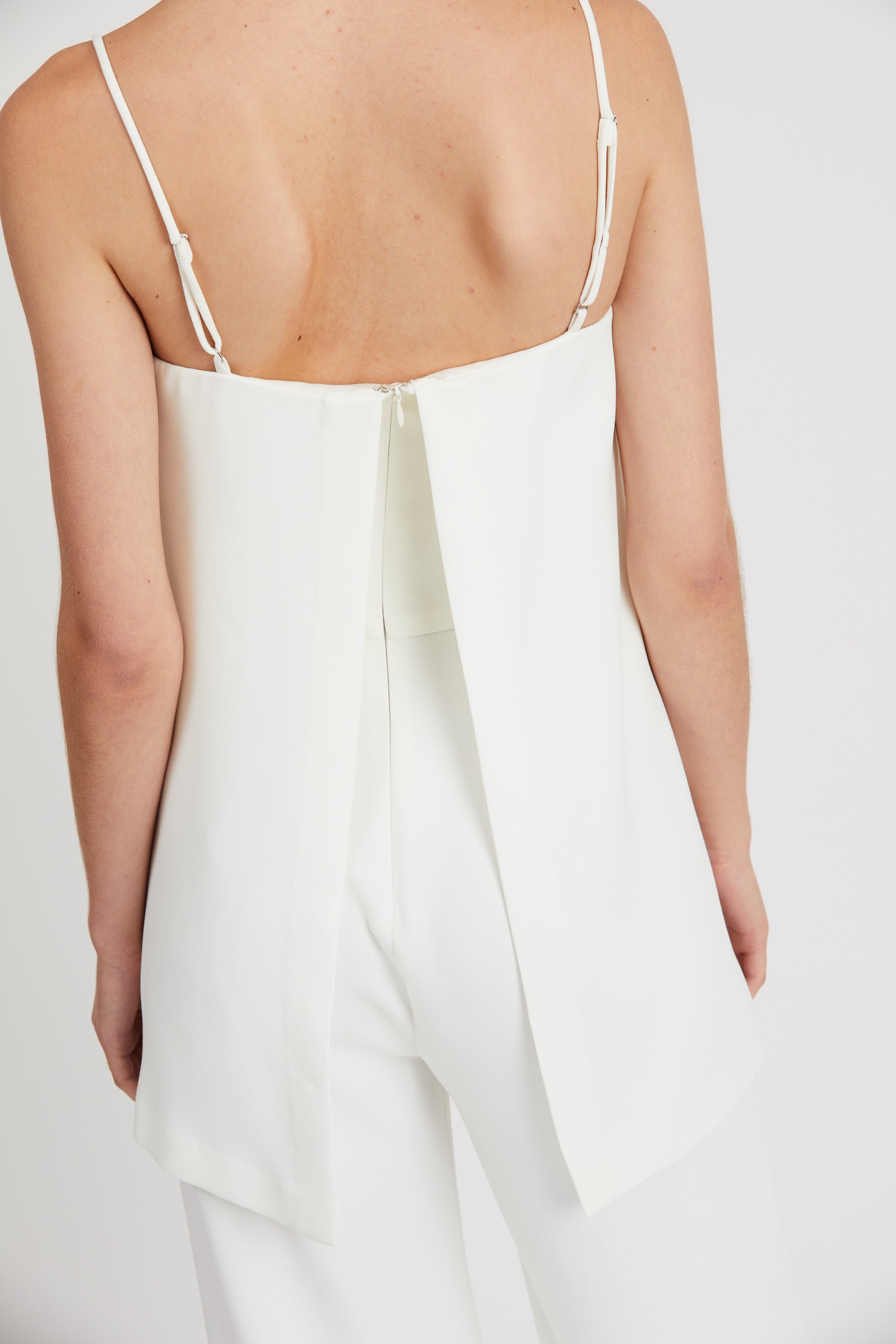 DOUBLE UP JUMPSUIT | OFF WHITE