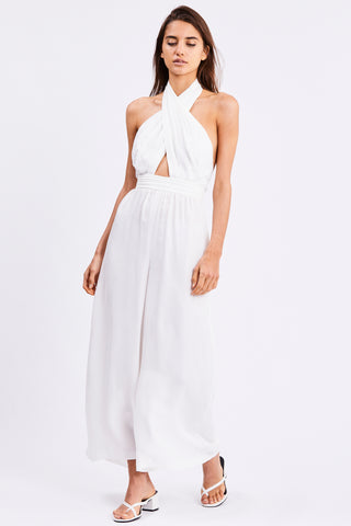 CROSS PATHS JUMPSUIT | OFF WHITE