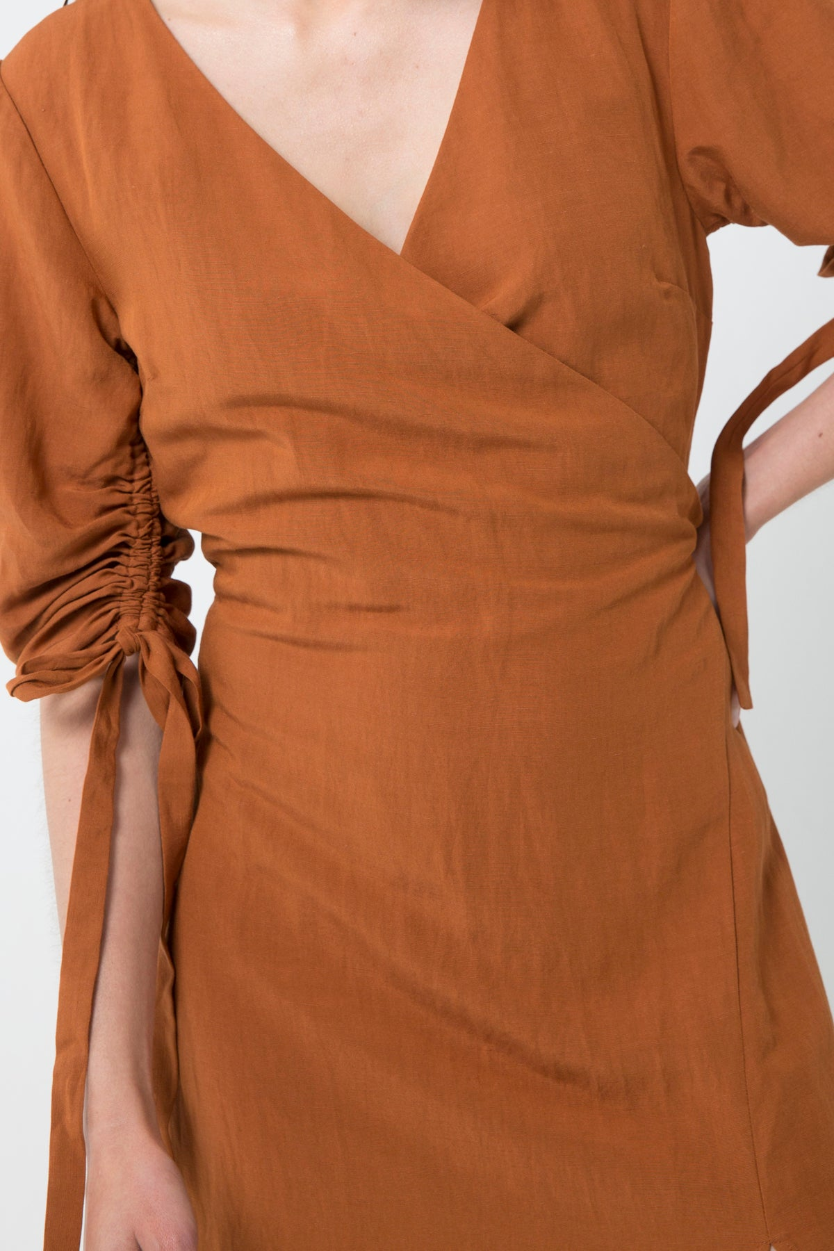 PICASSO MAXI DRESS | TERRACOTTA