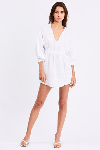 PLAY ON DRESS | WHITE