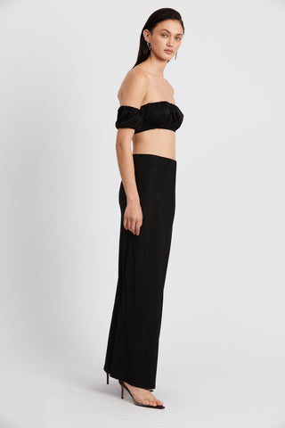 ROMANCER GATHER BANDEAU | BLACK