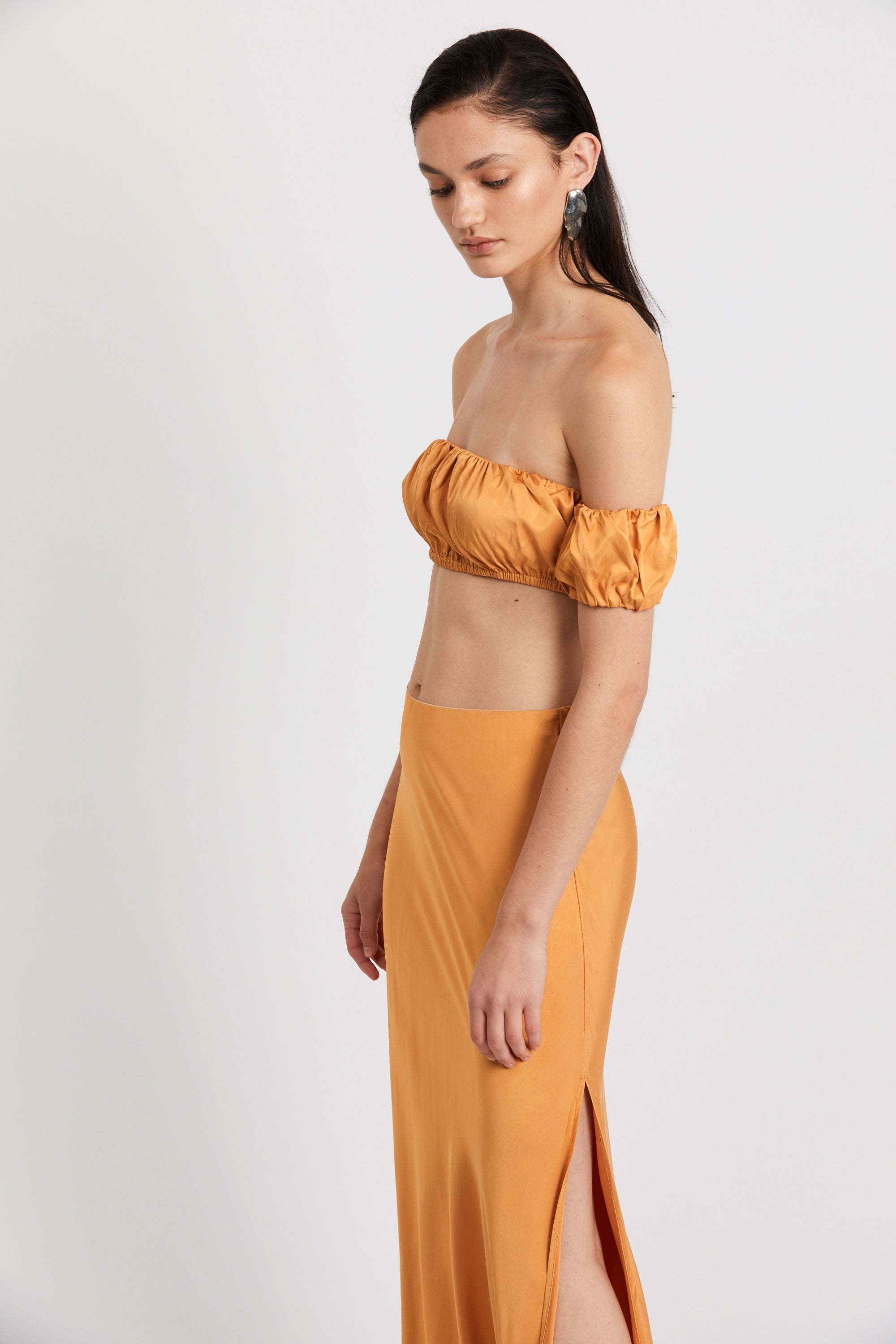 ROMANCER GATHER BANDEAU | HONEY