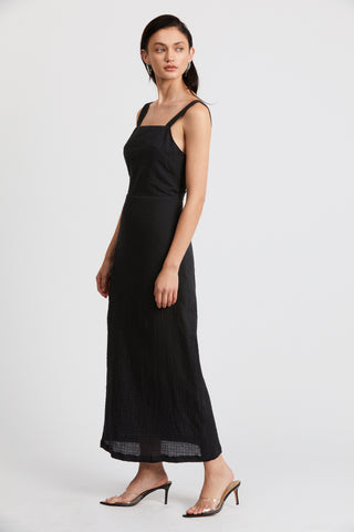 CLOUD MAXI DRESS | BLACK