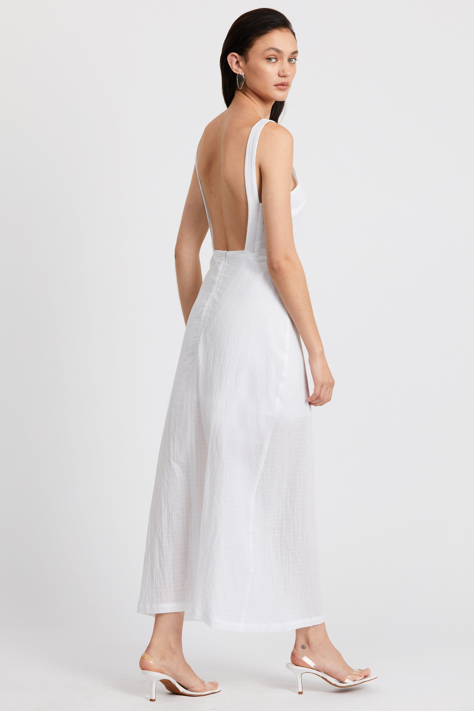 CLOUD MAXI DRESS | WHITE