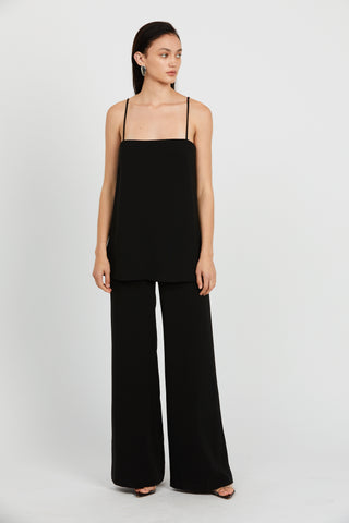 DOUBLE UP JUMPSUIT | BLACK