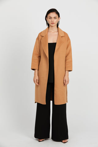 MY ALWAYS COAT | CAMEL