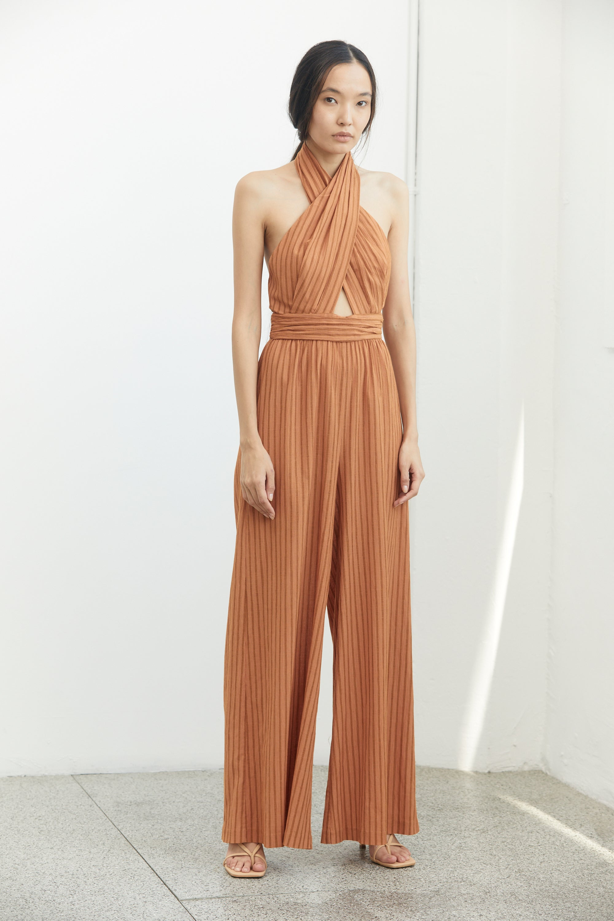 CROSSING OVER JUMPSUIT | DESERT