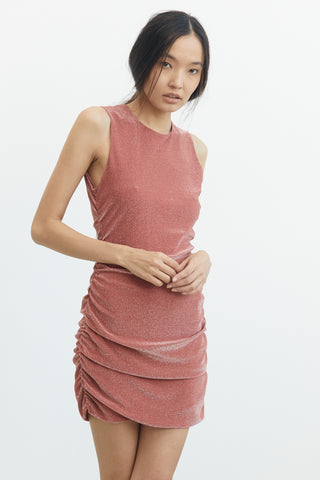 MIRAGE TANK DRESS | MELON METAL