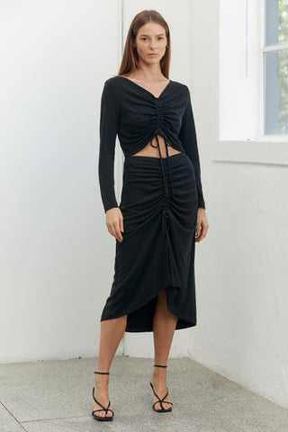 LURE IN SKIRT | BLACK
