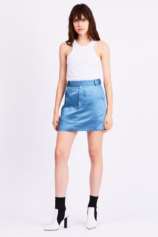 BOSS TAILORED MINI SKIRT | AGEAN