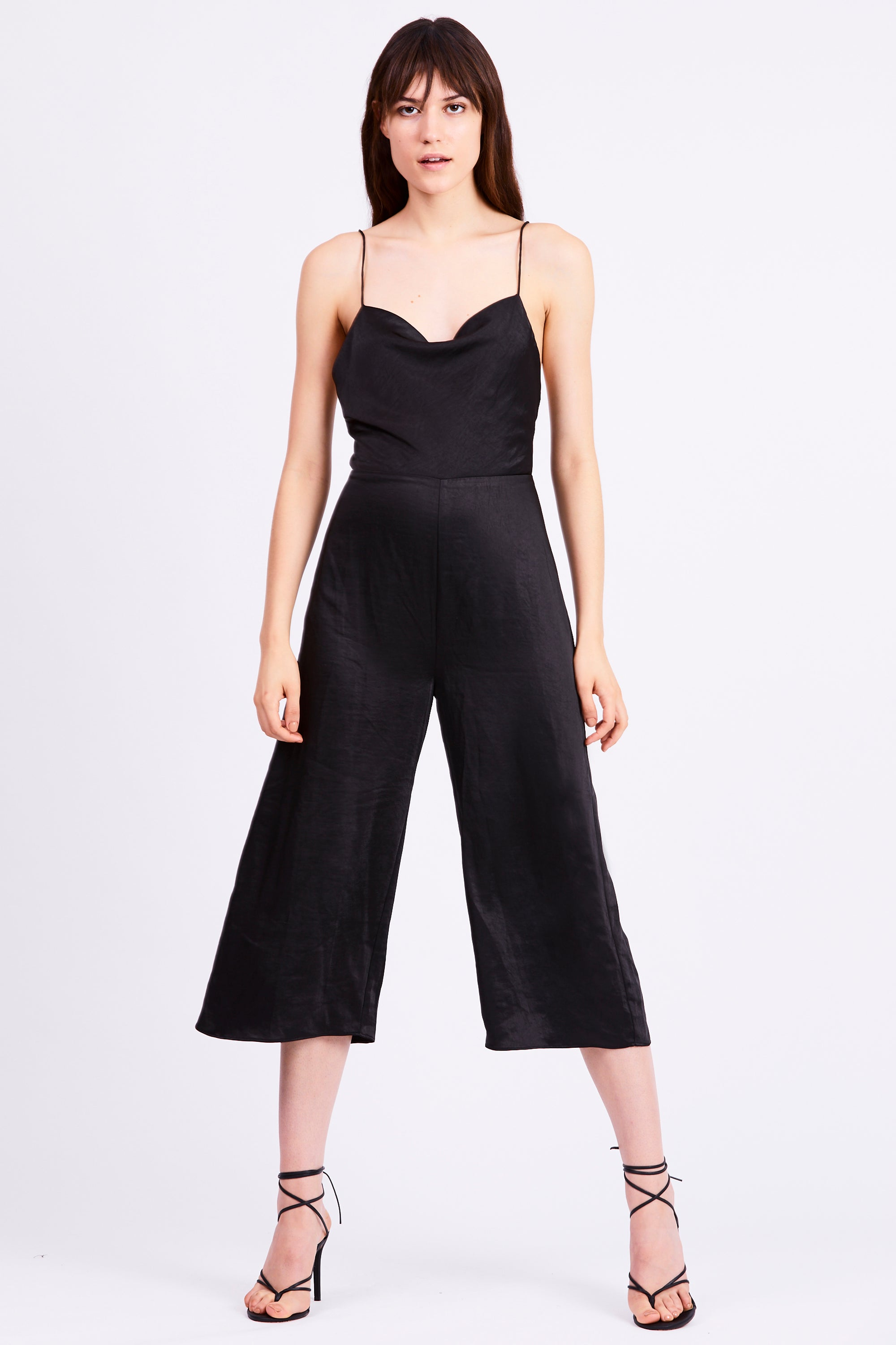 FINAL SAY BIAS JUMPSUIT | BLACK