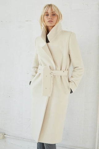 EYE OF THE STORM COAT | CREAM