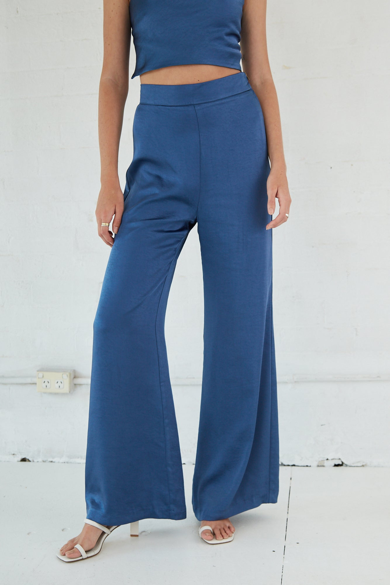 BLOOM TROUSER | CERULEAN