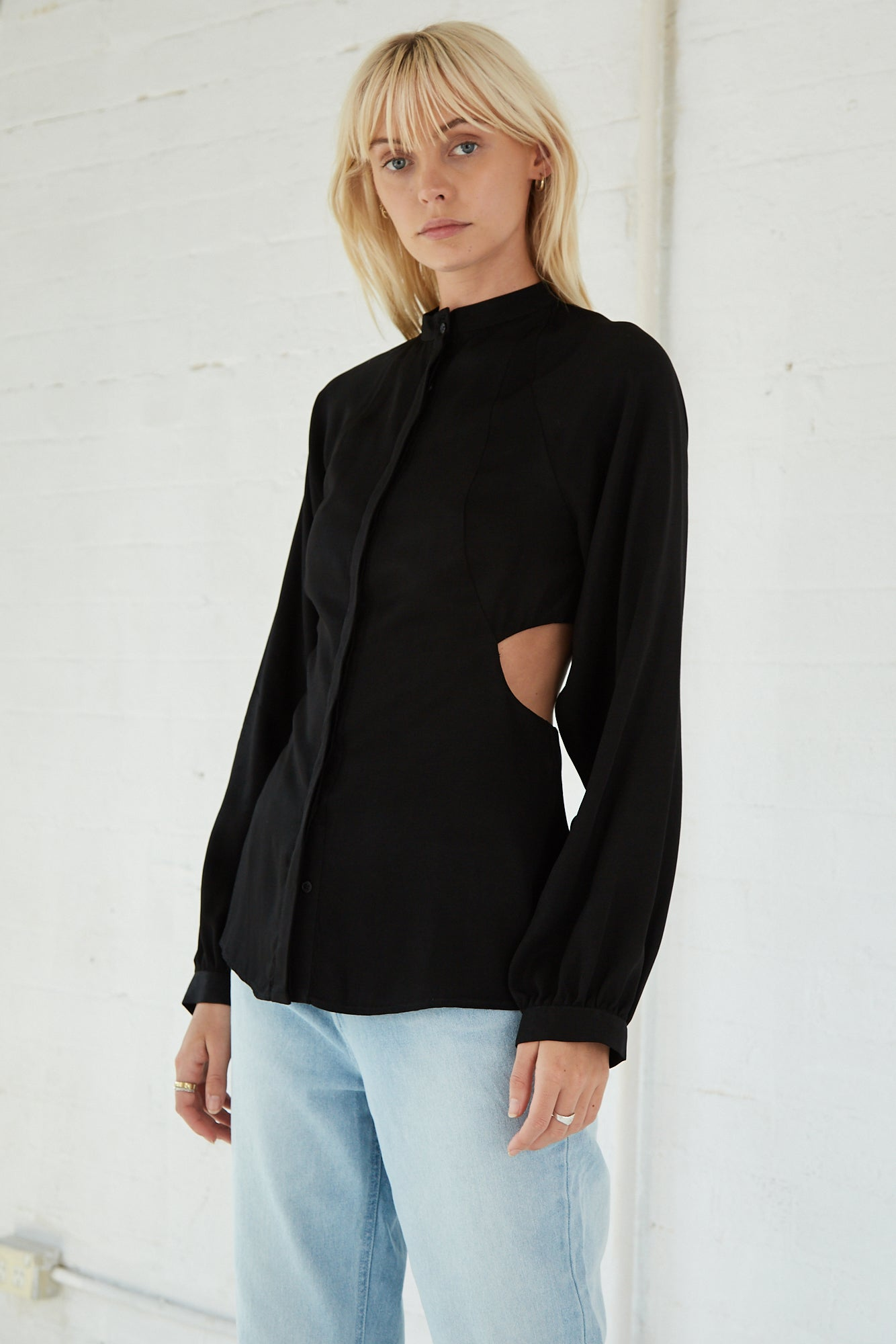 LINGER ON SHIRT | BLACK