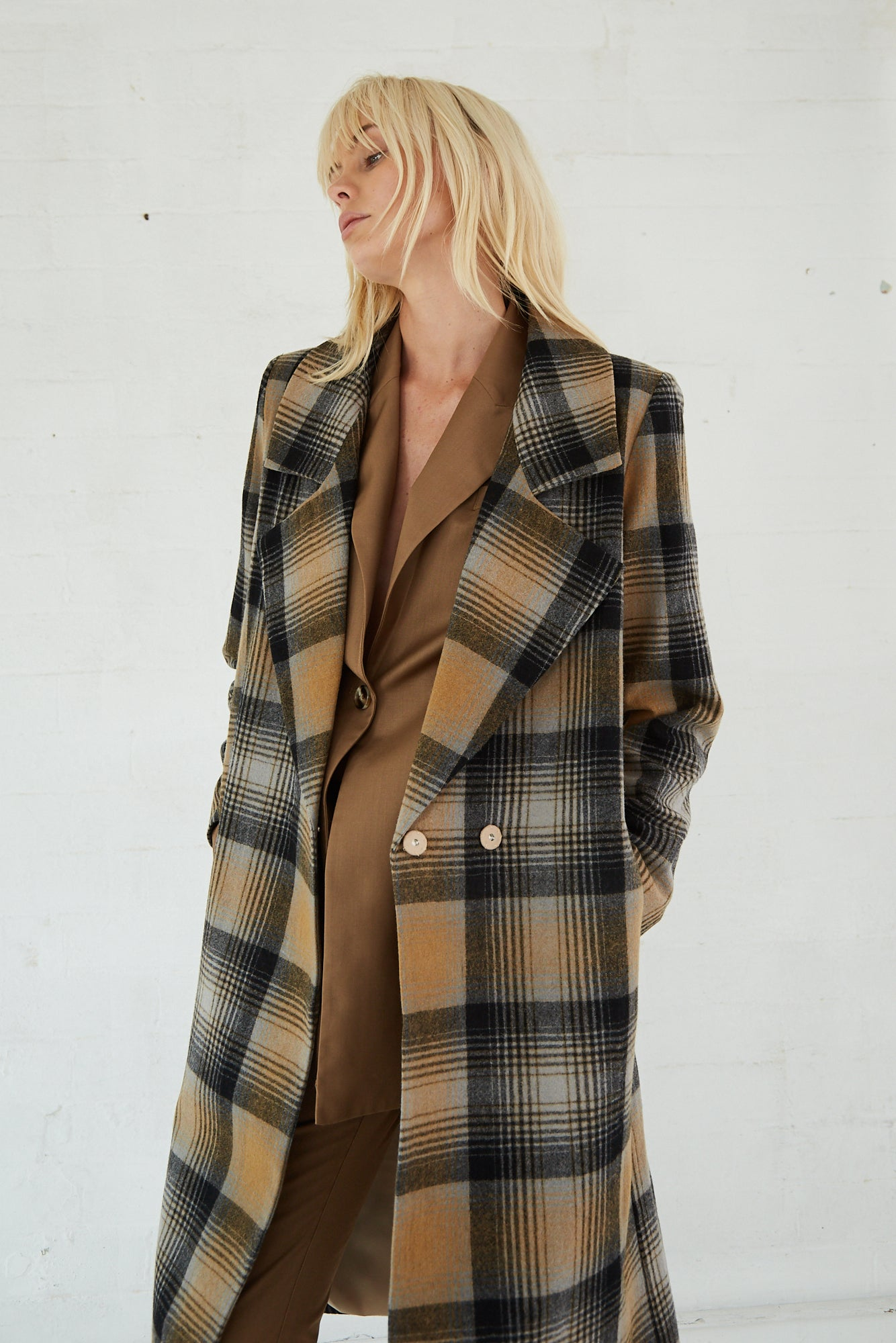 CHECK MATE COAT | CHECK
