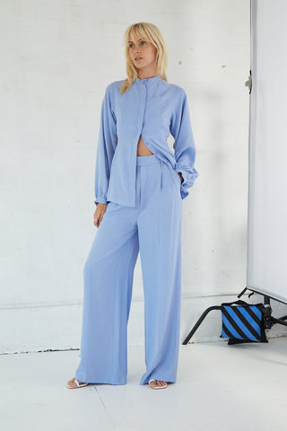 LINGER ON TAILORED TROUSER | PERIWINKLE