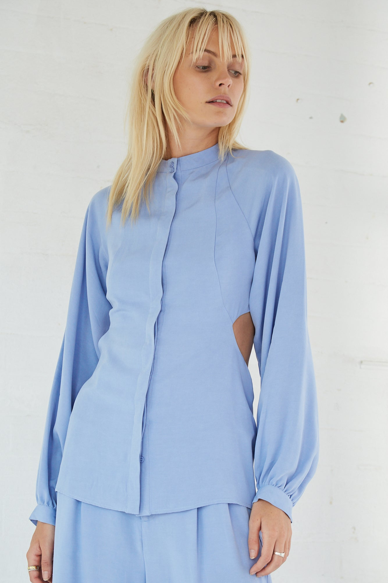 LINGER ON SHIRT | PERIWINKLE