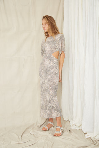 INTREPID CUT AWAY TEE DRESS | MARRAKECH