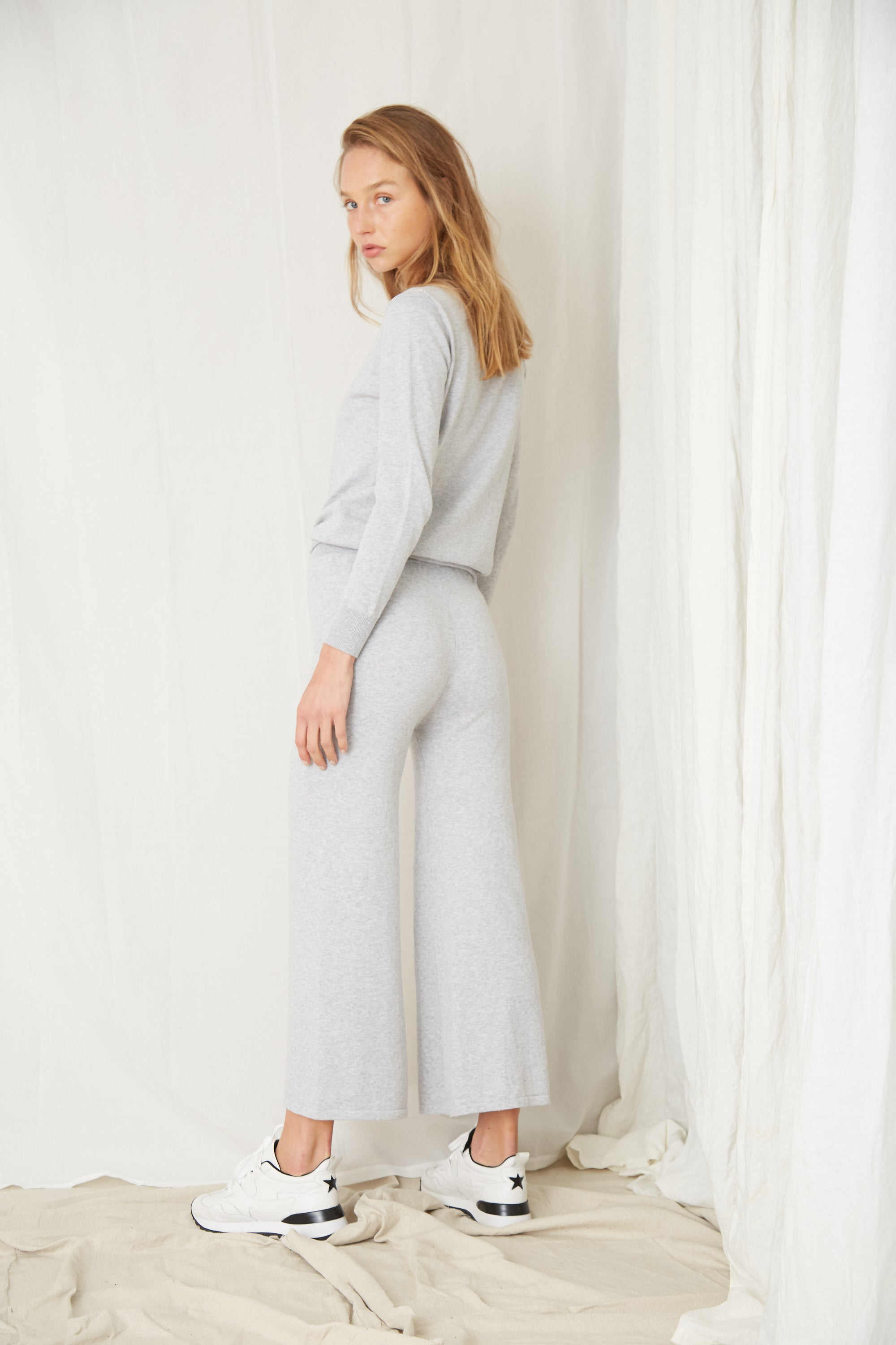 IN THE CREW PANT | GREY MARLE