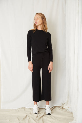 IN THE CREW PANT | BLACK