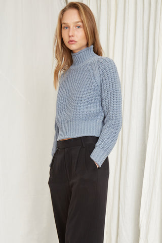 OWN BEAT CHUNKY TURTLENECK | RIVER