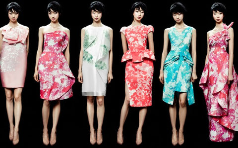 Phuong My Floral Dress - URBAN CLUB Designer Fashion Boutique