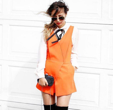 N12H Neon Jumpsuit - URBAN CLUB Designer Fashion Boutique