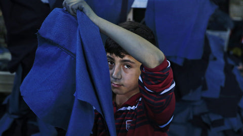 Child refugees in Turkey making clothes for UK shops - URBAN CLUB Designer Fashion Boutique
