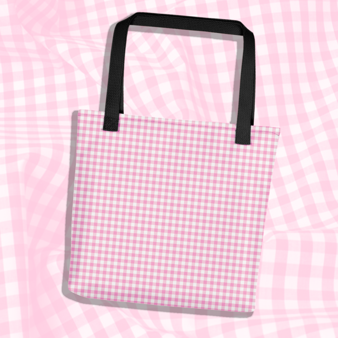 BABY GINGHAM TOTE