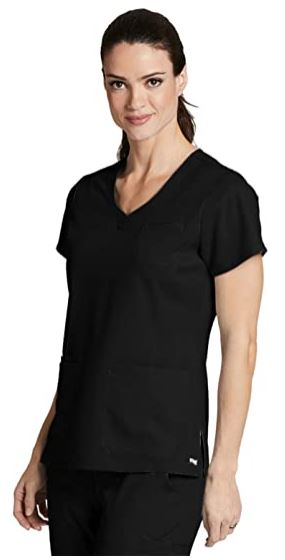 Grey's Anatomy - Women's Nurse Scrub Top 41460-The Scrub Store