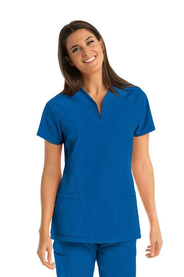 Ladies Boost Scrub Top 2XL - 5XL