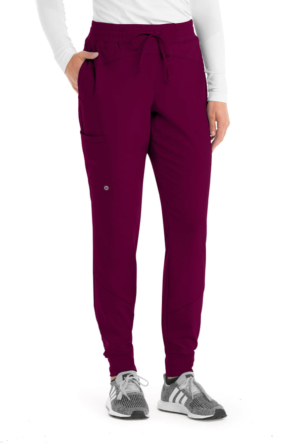 Barco One Scrub Pant 2XL / 65 Wine Ladies Boost Jogger Scrub Pant 2XL-5XL