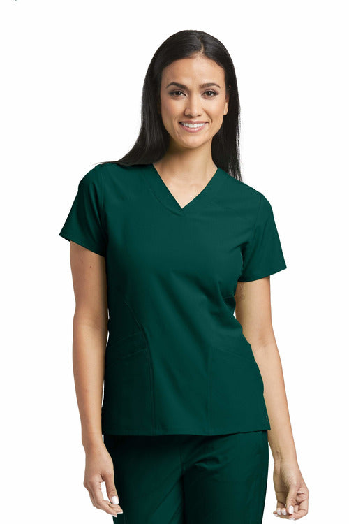 Barco One | Ladies Vet Scrub Top 5106 2XL-5XL
