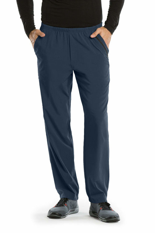 Barco One Scrub Pant 4 Way Stretch 2XL / Steel / 50% Polyester / 43% Recycled Polyester / 7% Spandex Barco One | Men's Vet Scrub Pant 0217 2XL-5XL