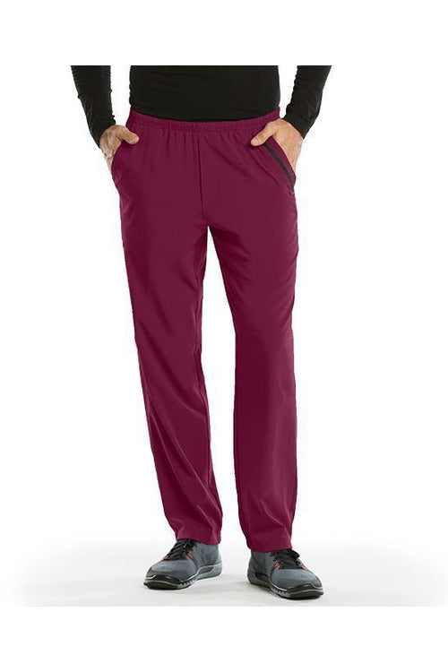 Barco One Scrub Pant 4 Way Stretch 2XL / Wine Barco One - Men's Vet Scrub Pant 2XL-5XL 0217