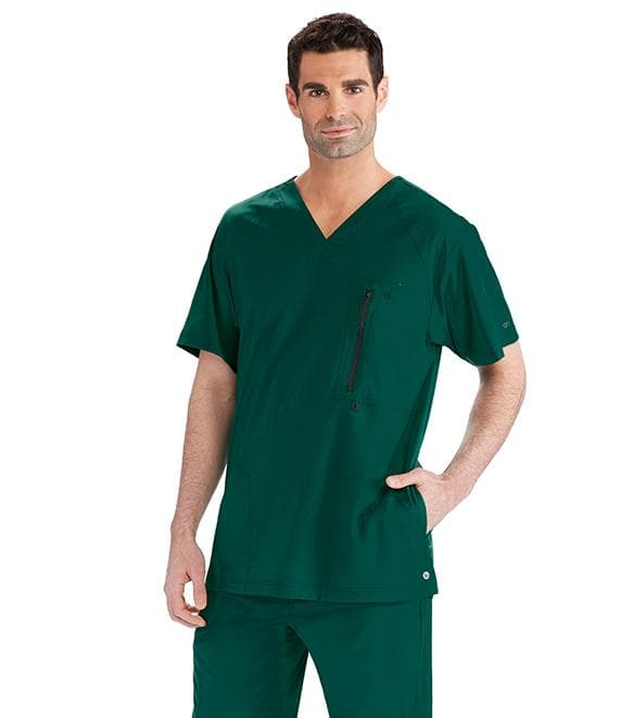 Barco One Scrub Top XS / 37 Hunter Men's Amplify Scrub Top